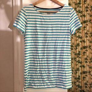 Boden Breton Blue Striped T-shirt